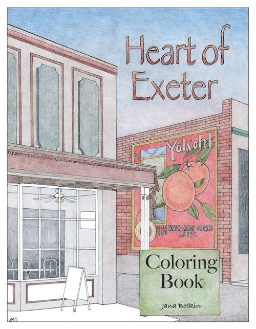 "The cover of the next ""Heart of"" series of local coloring books for grown-ups."