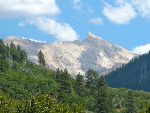 Sawtooth Peak in Mineral King, photo by jana Botkin