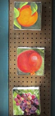 fruit oil paintings