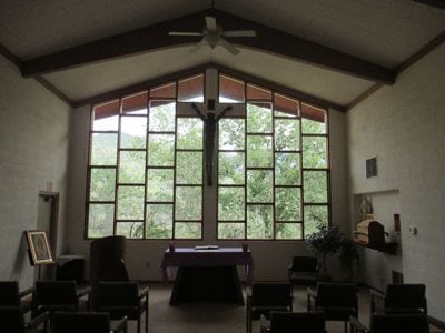 Small chapel at St. Anthony's