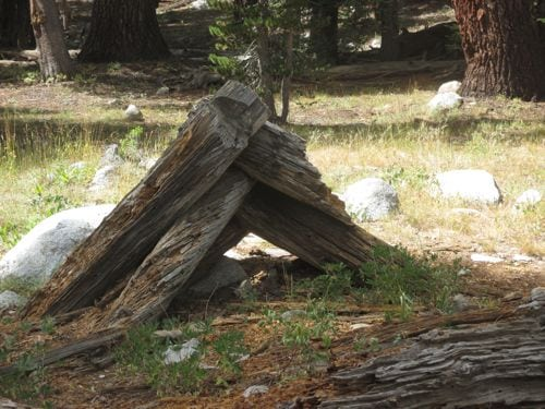 Crabtree cabin ruins