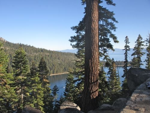 The bus took us from Stateline to Emerald Bay.