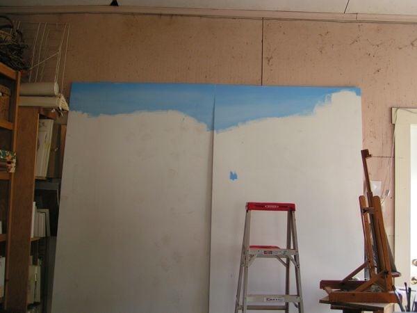 mural beginning
