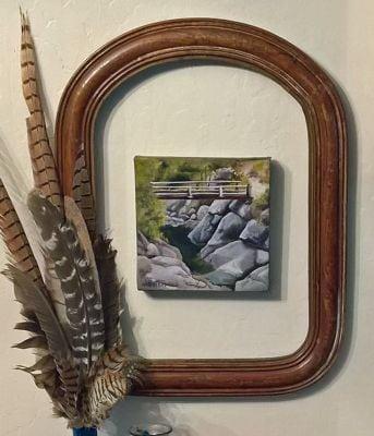 framed closer