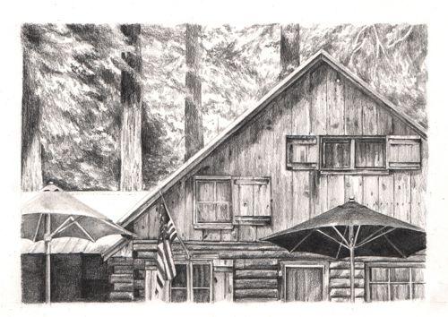 Wilsonia cabin porch