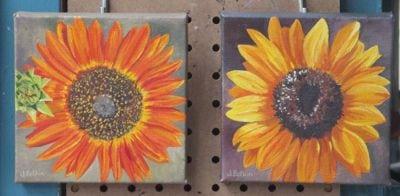 sunflower oil paintings